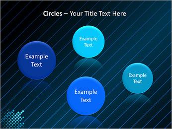 Bleu Couleur-Design Modèles des présentations  PowerPoint - Diapositives 57