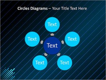 Bleu Couleur-Design Modèles des présentations  PowerPoint - Diapositives 58