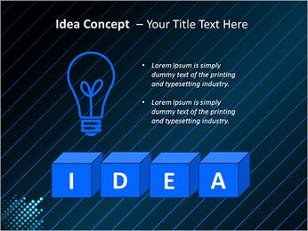 Bleu Couleur-Design Modèles des présentations  PowerPoint - Diapositives 60