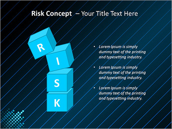 Bleu Couleur-Design Modèles des présentations  PowerPoint - Diapositives 61