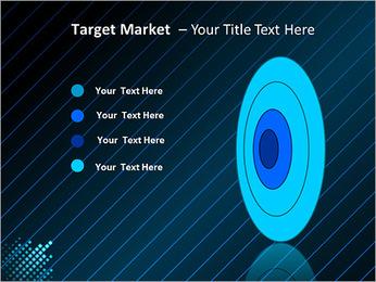 Bleu Couleur-Design Modèles des présentations  PowerPoint - Diapositives 64