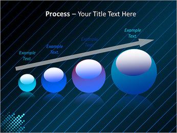 Bleu Couleur-Design Modèles des présentations  PowerPoint - Diapositives 67