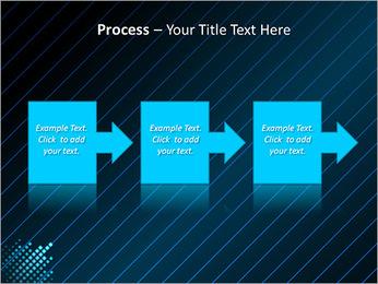 Bleu Couleur-Design Modèles des présentations  PowerPoint - Diapositives 68