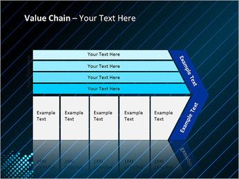 Bleu Couleur-Design Modèles des présentations  PowerPoint - Diapositives 7