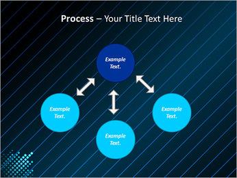 Bleu Couleur-Design Modèles des présentations  PowerPoint - Diapositives 71