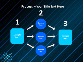 Bleu Couleur-Design Modèles des présentations  PowerPoint - Diapositives 72
