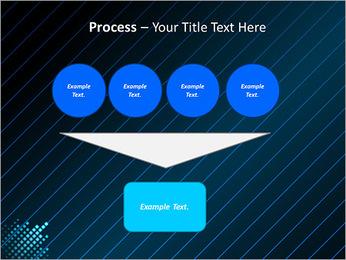 Bleu Couleur-Design Modèles des présentations  PowerPoint - Diapositives 73