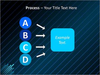 Bleu Couleur-Design Modèles des présentations  PowerPoint - Diapositives 74