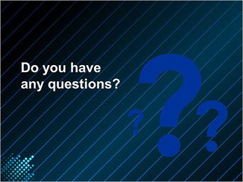 Bleu Couleur-Design Modèles des présentations  PowerPoint - Diapositives 75