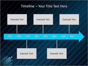 Bleu Couleur-Design Modèles des présentations  PowerPoint - Diapositives 8