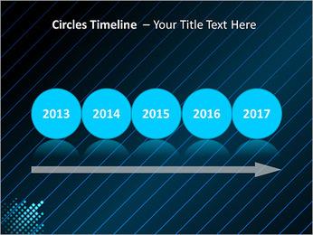 Bleu Couleur-Design Modèles des présentations  PowerPoint - Diapositives 9