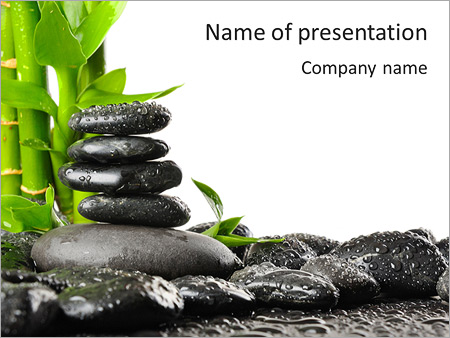 Spa And Meditation PowerPoint Template & Backgrounds ID ...