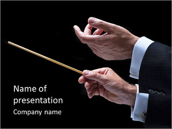 Conductor PowerPoint Template