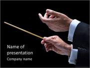 Conductor PowerPoint Templates