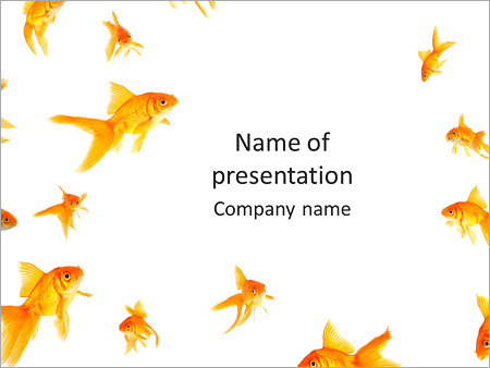 Decorative golden fish powerpoint template backgrounds id decorative golden fish powerpoint templates pronofoot35fo Choice Image