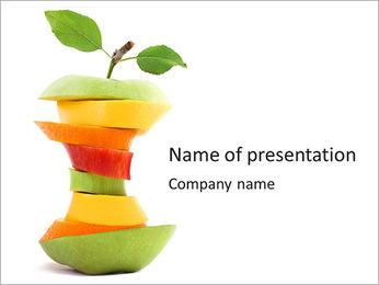 Fruit Composition PowerPoint Templates - Slide 1