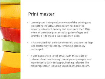 Fruit Composition PowerPoint Template - Slide 76