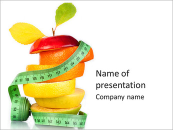 Fruit Diet PowerPoint presentationsmallar