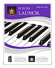 Piano Musical Instrument Flyer Template