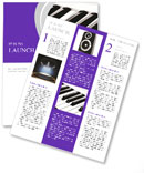 Piano Musical Instrument Newsletter Templates