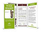 Saxophone Instrument Brochure Template