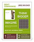 Saxophone Instrument Flyer Template