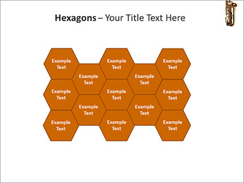 Saxophone Instrument PowerPoint Template - Slide 24