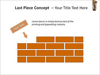 Saxophone Instrument PowerPoint Template - Slide 26