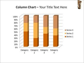 Saxophone Instrument PowerPoint Template - Slide 30