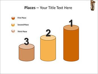 Saxophone Instrument PowerPoint Template - Slide 45