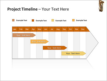 Saxophone Instrument PowerPoint Template - Slide 5