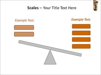 Saxophone Instrument PowerPoint Template - Slide 69