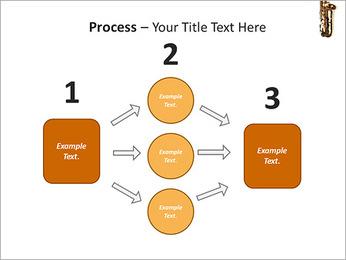 Saxophone Instrument PowerPoint Template - Slide 72