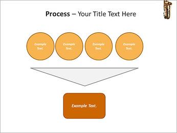 Saxophone Instrument PowerPoint Template - Slide 73