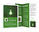 Green Lamp Brochure Templates
