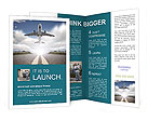 Roads and planes Brochure Templates