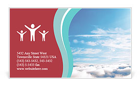 Heaven Business Card Template