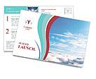 Heaven Postcard Template