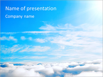 Heaven PowerPoint Template