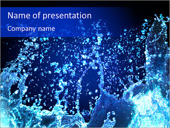 Water Design PowerPoint Template