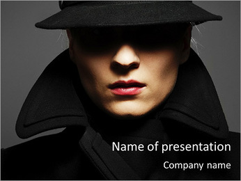Professional Fashion Shooting PowerPoint Template