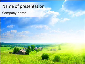 Village Life PowerPoint Template