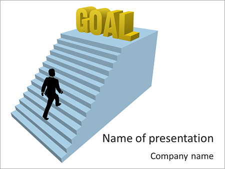 setting up a powerpoint template - setting goals powerpoint template backgrounds id