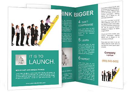 climbing career ladder brochure template design id 0000003853