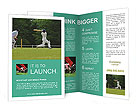 Popular Cricket Game Brochure Templates