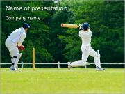 Popular Cricket Game PowerPoint Templates