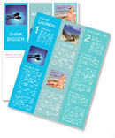 Diver In The Sea Newsletter Template