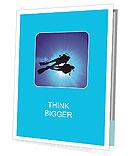 Diver In The Sea Presentation Folder