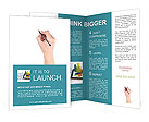 Write With A Pen Brochure Templates