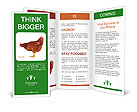 Brown Hen Brochure Templates